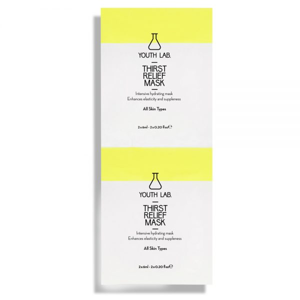 Thirst Relief Mask All Skin Types 2X6ml
